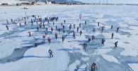 Гонка Ледовый шторм на Байкале