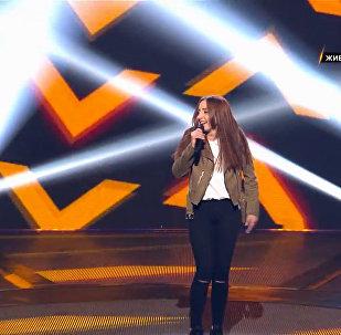 Зинкина  выступила на проекте Ты супер! с песней Stromae