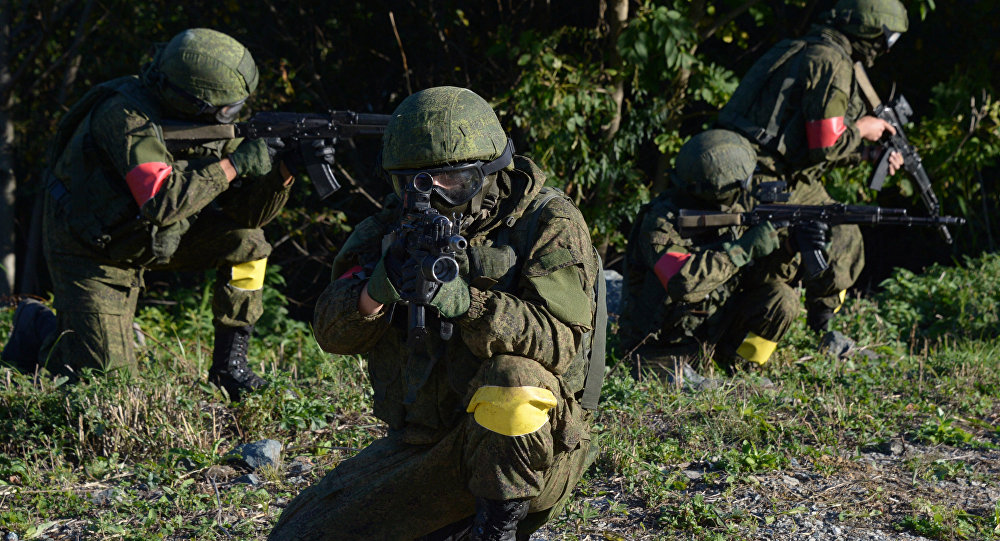 Учения антитеррористических сил