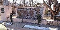 Торжественные мероприятия в Ленингоре в преддверии 23 февраля