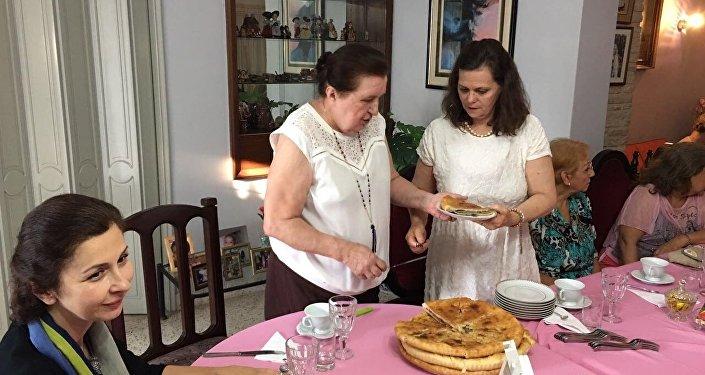 Праздник по осетинским обычаям