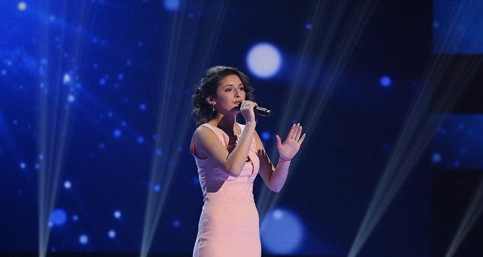 Арина Габараева на проекте Ты супер!