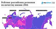 Рейтинг российских регионов по качеству жизни-2016