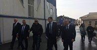Визит заместителя полпреда президента в СКФО Максима Владимирова в Северную Осетию