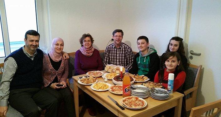 Джабагъ Кабло с супругой и детьми