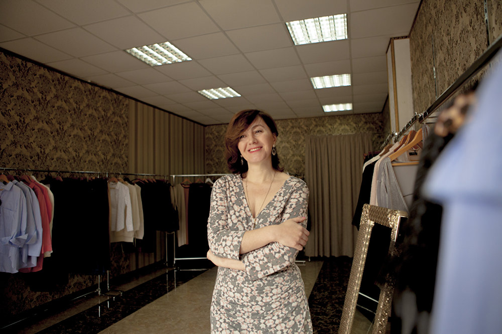 Нона Келехсаева. Частный предприниматель