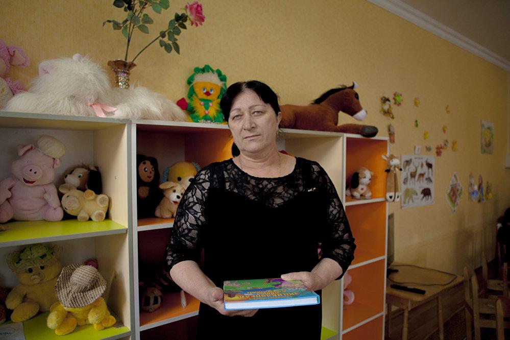 Мзия Газзаева. Воспитатель средней группы детского сада Солнышко
