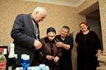 Леонид Тибилов поздравил с 8 Марта 106-летнюю жительницу Южной Осетии