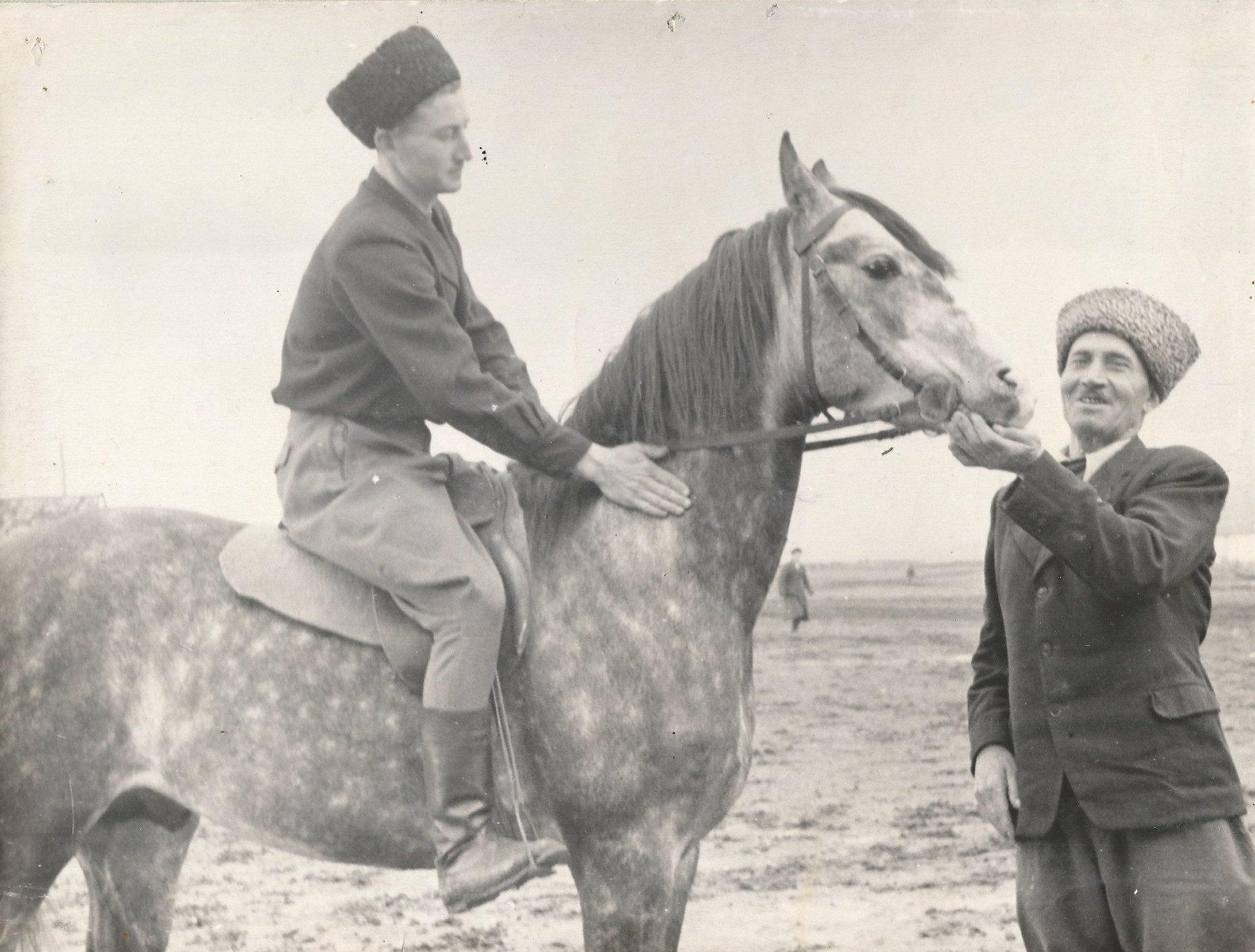 Ирбек и Алибек Кантемировы, первые уроки Буяна перед съёмками Смелые люди