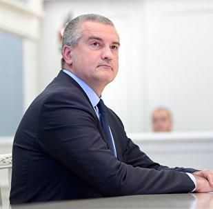 Глава Республики Крым Сергей Аксенов