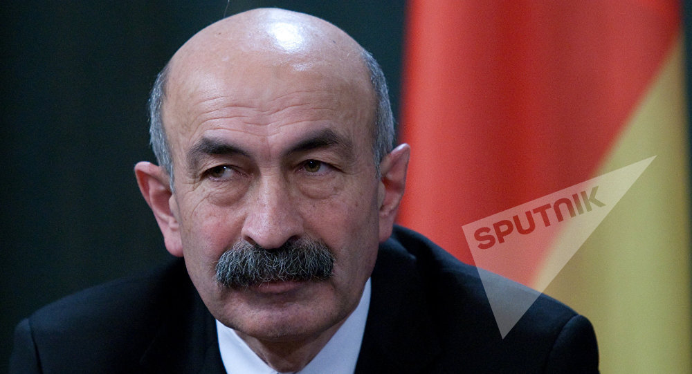 Министр иностранных дел Южной Осетии Мурат Джиоев