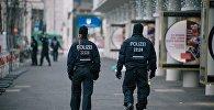 Сотрудники полиции Германии