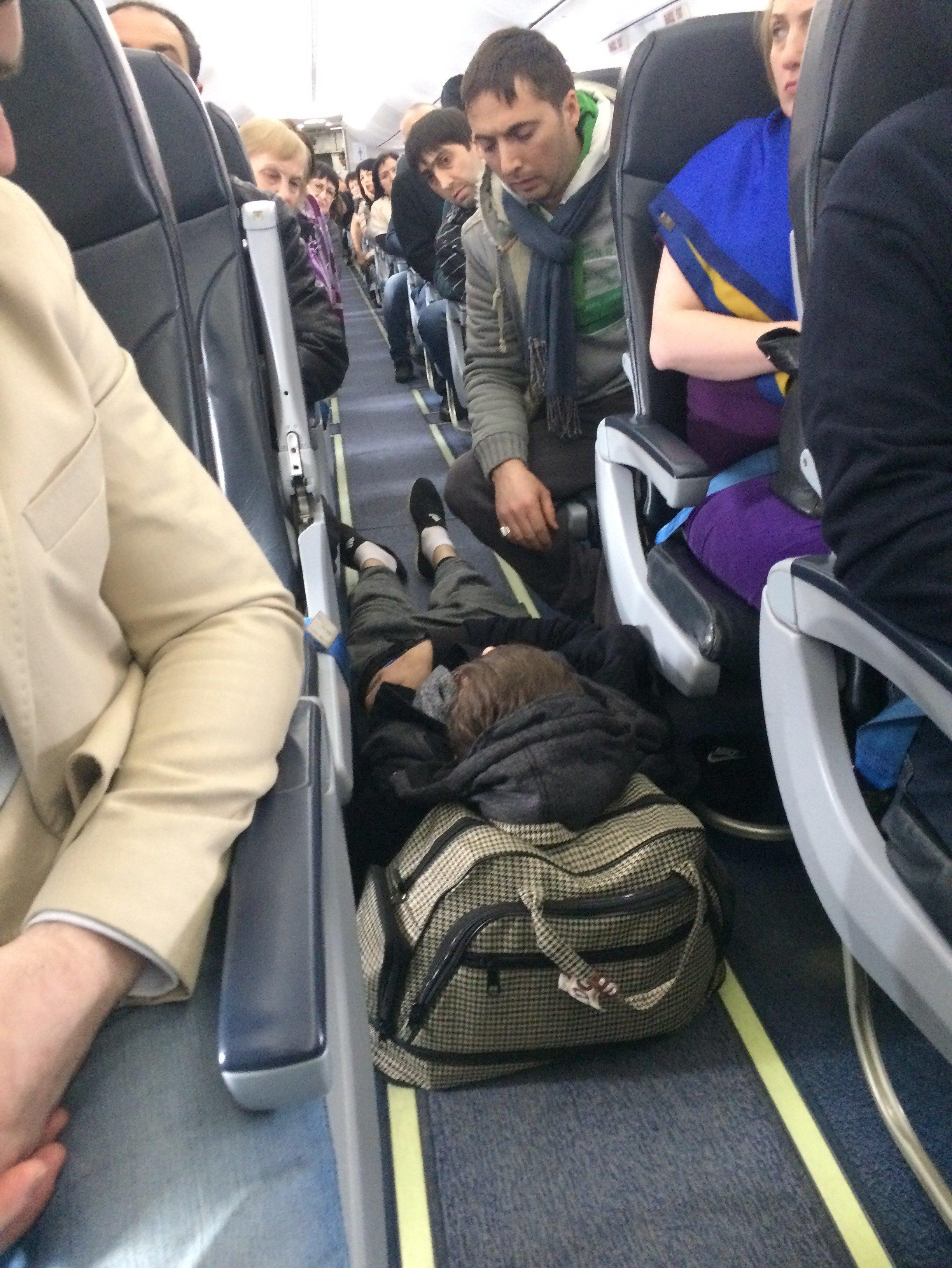 ЧП на борту рейса Москва-Владикавказ