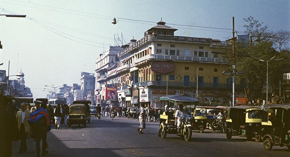 Центральная улица старой части Дели