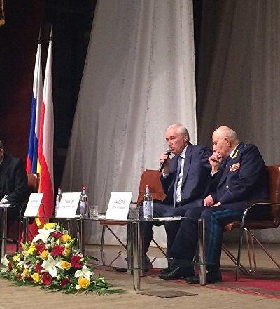 Встреча Леонида Тибилова с избирателями во Владикавказе
