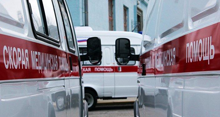Глава МЧС РФ В.Пучков передал новую технику крымским спасателям