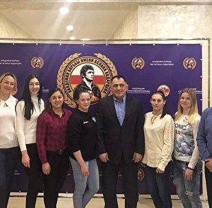 Сборная Белорусии на сборах во Владикавказе