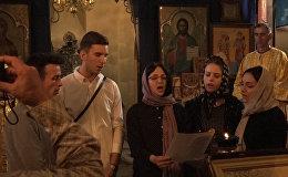 Литургия на сербском языке впервые звучала в Цхинвальском храме