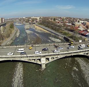 Кировский мост во Владикавказе