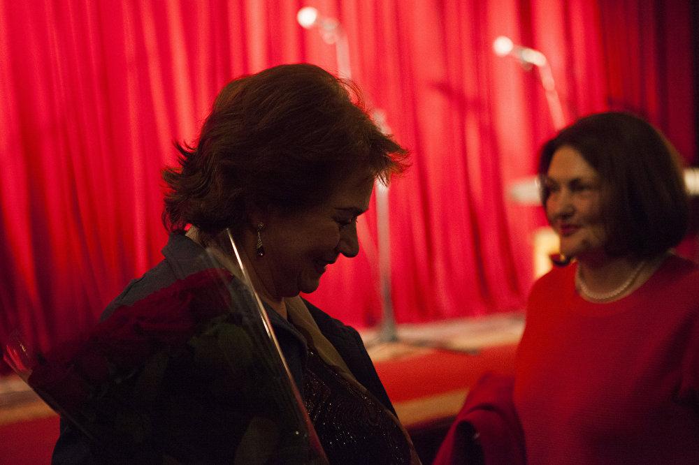 Празднование дня театра в Государственном драматическом театре им. К.Л. Хетагурова