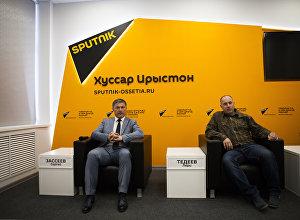 Сергей Засеев и Лери Тедее