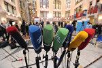 Микрофоны российских телеканалов