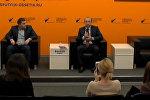 Пресс-конференция главы группы компаний Евродон Вадима Ванеева