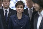 Суд арестовал экс-президента Южной Кореи Пак Кын Хе