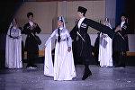 Национальный осетинский танец СИМД на льду