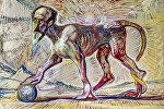 Картина художника Д.Харебова