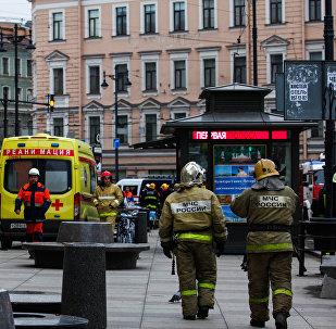 Санкт-Петербурджы метройы теракт