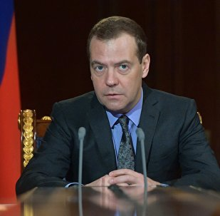 УФ премьер-министр Дмитрий Медведев