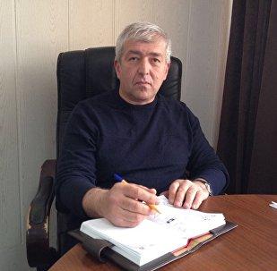 Министр строительства, архитектуры и ЖКХ РЮО Эдуард Дзагоев