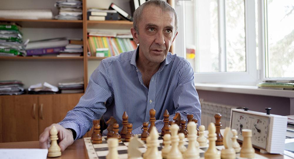 Шахматист Ирбег Тибилов