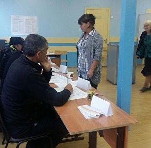 Голосование в селе Гуфта