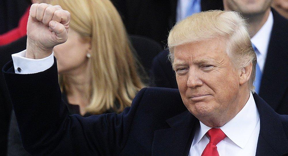 Инаугурация избранного президента США Д. Трампа в Вашингтоне