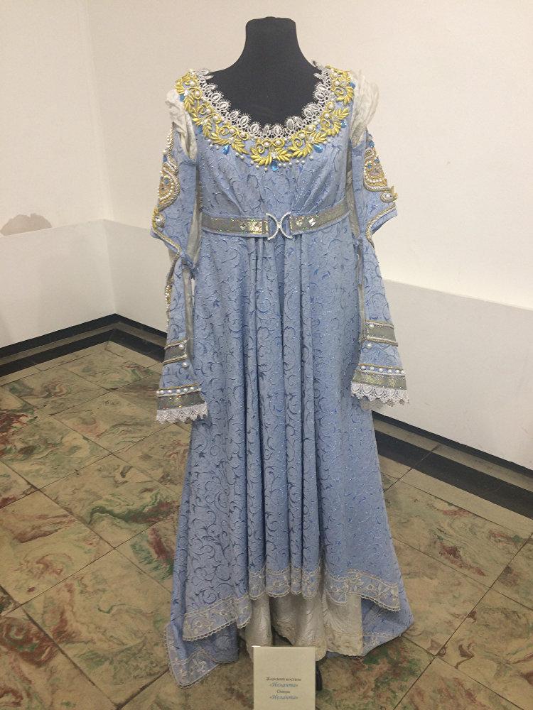 Женский костюм, сшитый для оперы Иоланта