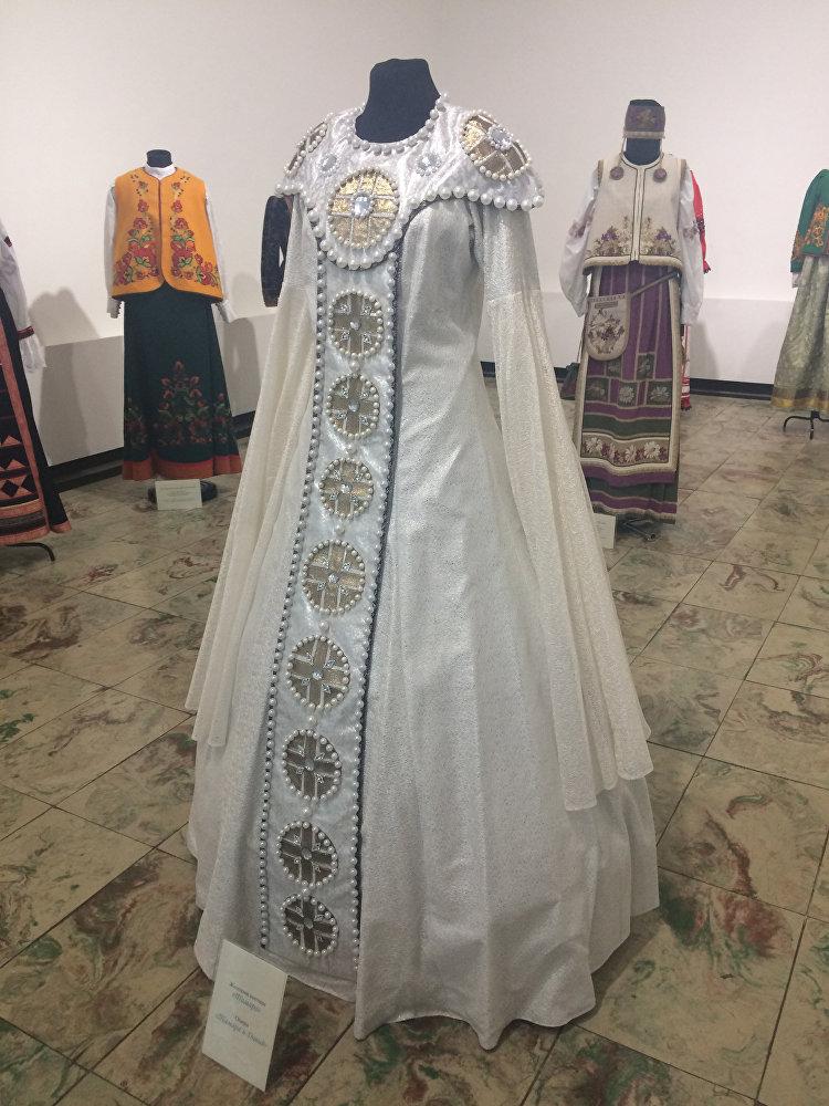 Платье Тамары в опере Тамара и Давид