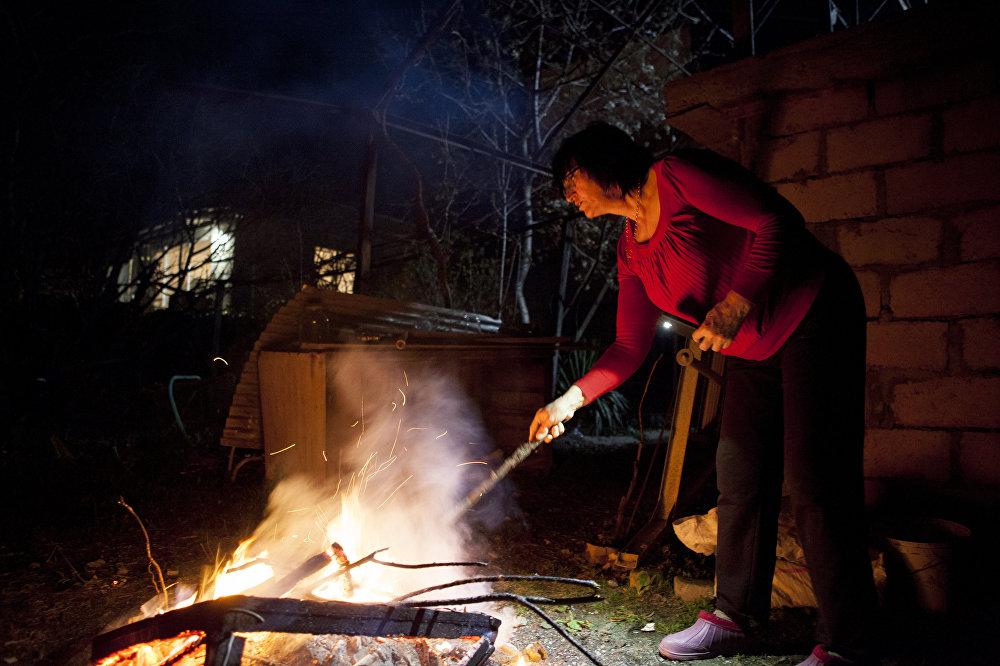 Ритуальное сжигание костра