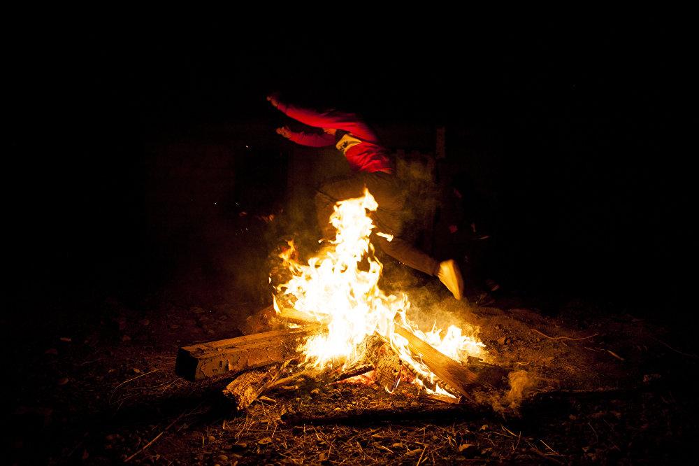 Ритуальное разжигание костра