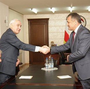Леонид Тибилов и Анатолий Бибилов
