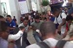 Сторонники и противники Мадуро подрались в церкви