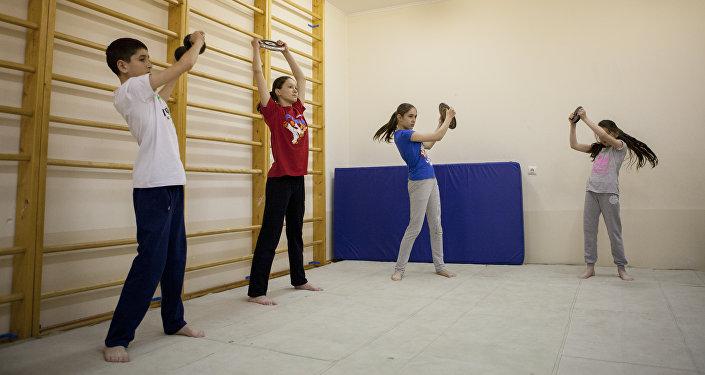 Тренировка карате