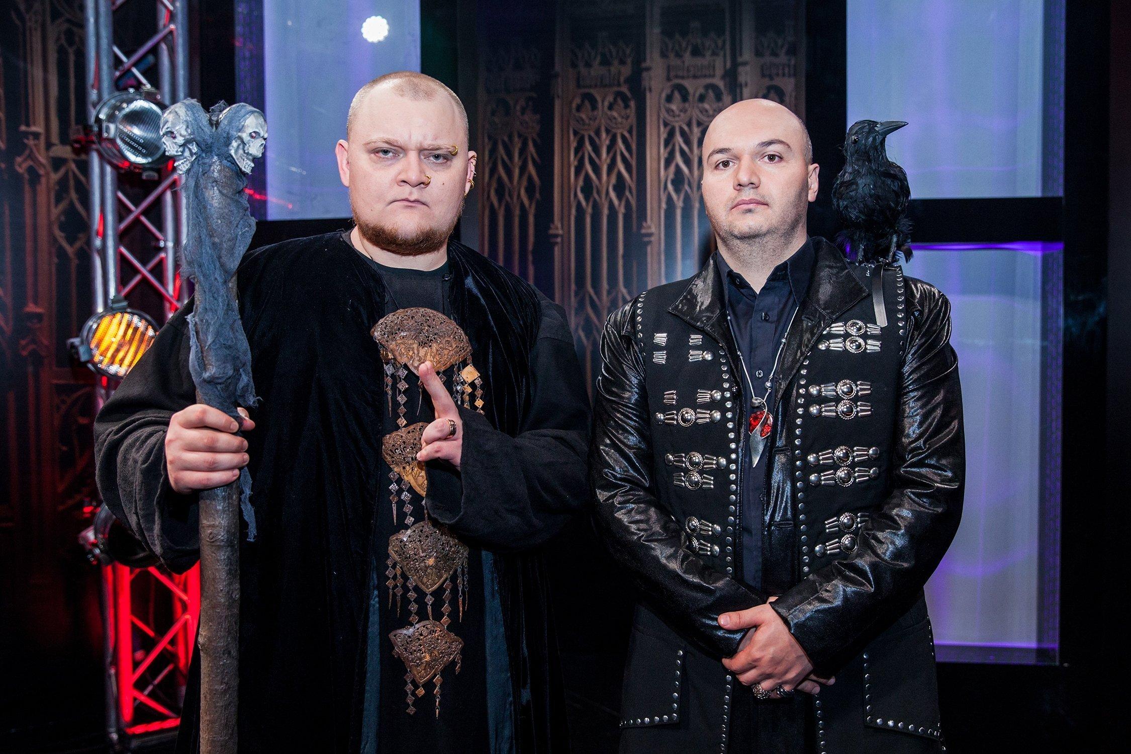 На съемках популярного шоу Однажды в России