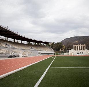 Стадион в Цхинвале, где пройдет инаугурация президента РЮО