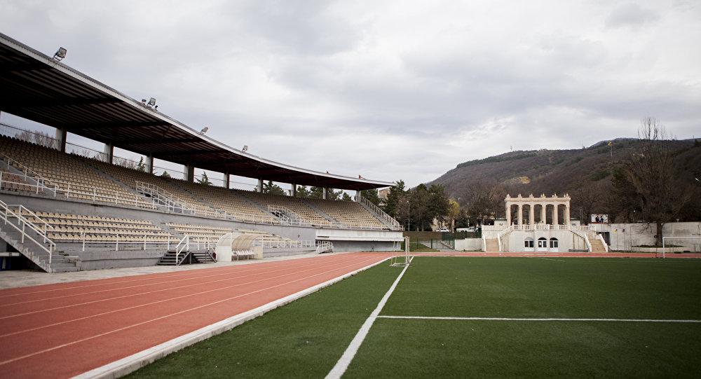 Стадион в Цхинвале где пройдет инаугурация президента РЮО