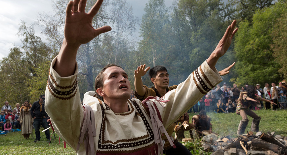 Обрядовый праздник Алхалалалай на Камчатке