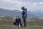Российские саперы приступили к разминированию в Южной Осетии