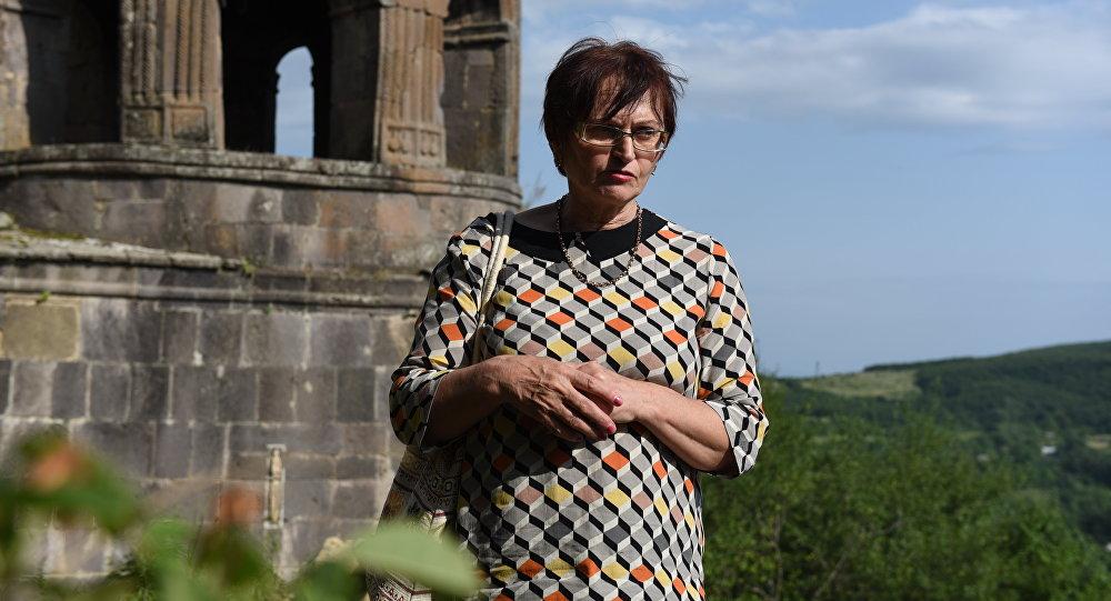 Начальник отдела охраны памятников Нелли Табуева