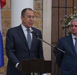 Лавров поздравил с новосельем российских дипломатов в Абхазии
